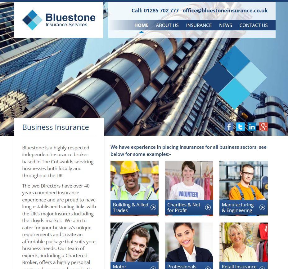 Bluestone Launch New Website