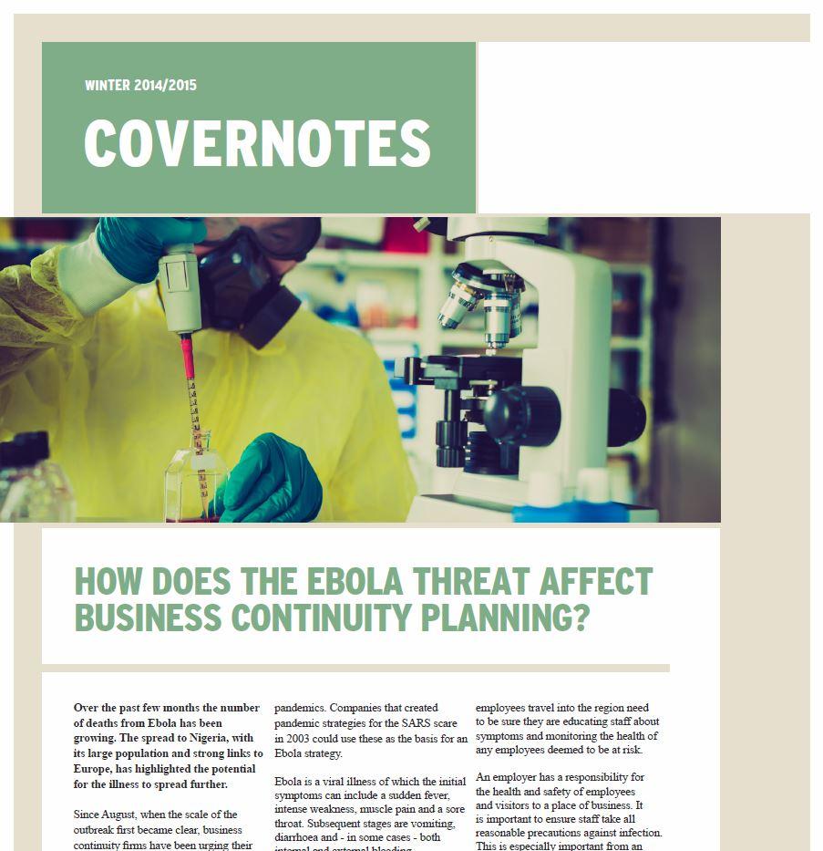 "Winter 2014-2015 ""Covernotes"" Newsletter - Bluestone ..."