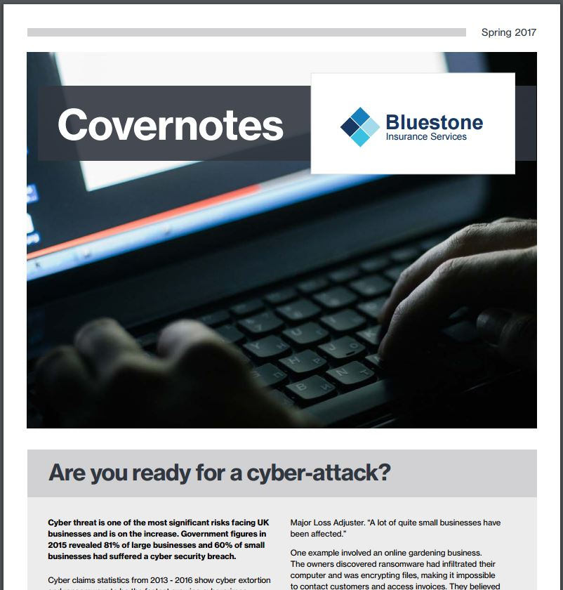 Covernotes Spring 2017