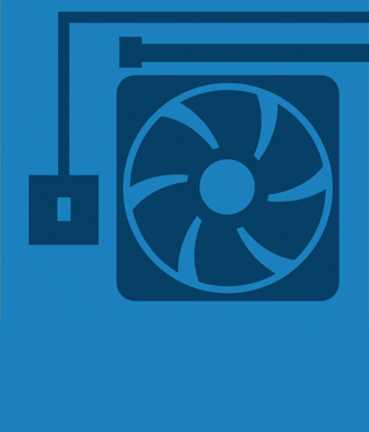 Web Icon - Building Services BLUE