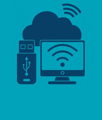 Web Icon - Tech Media & Telecoms BLUE