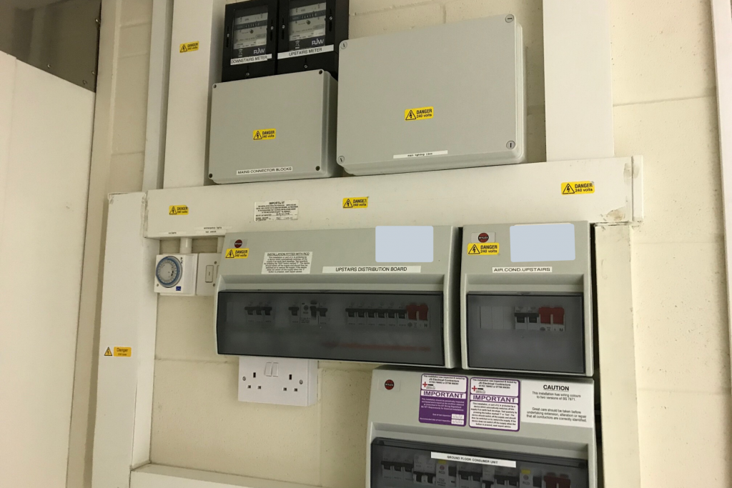 Electrical Fuse Board
