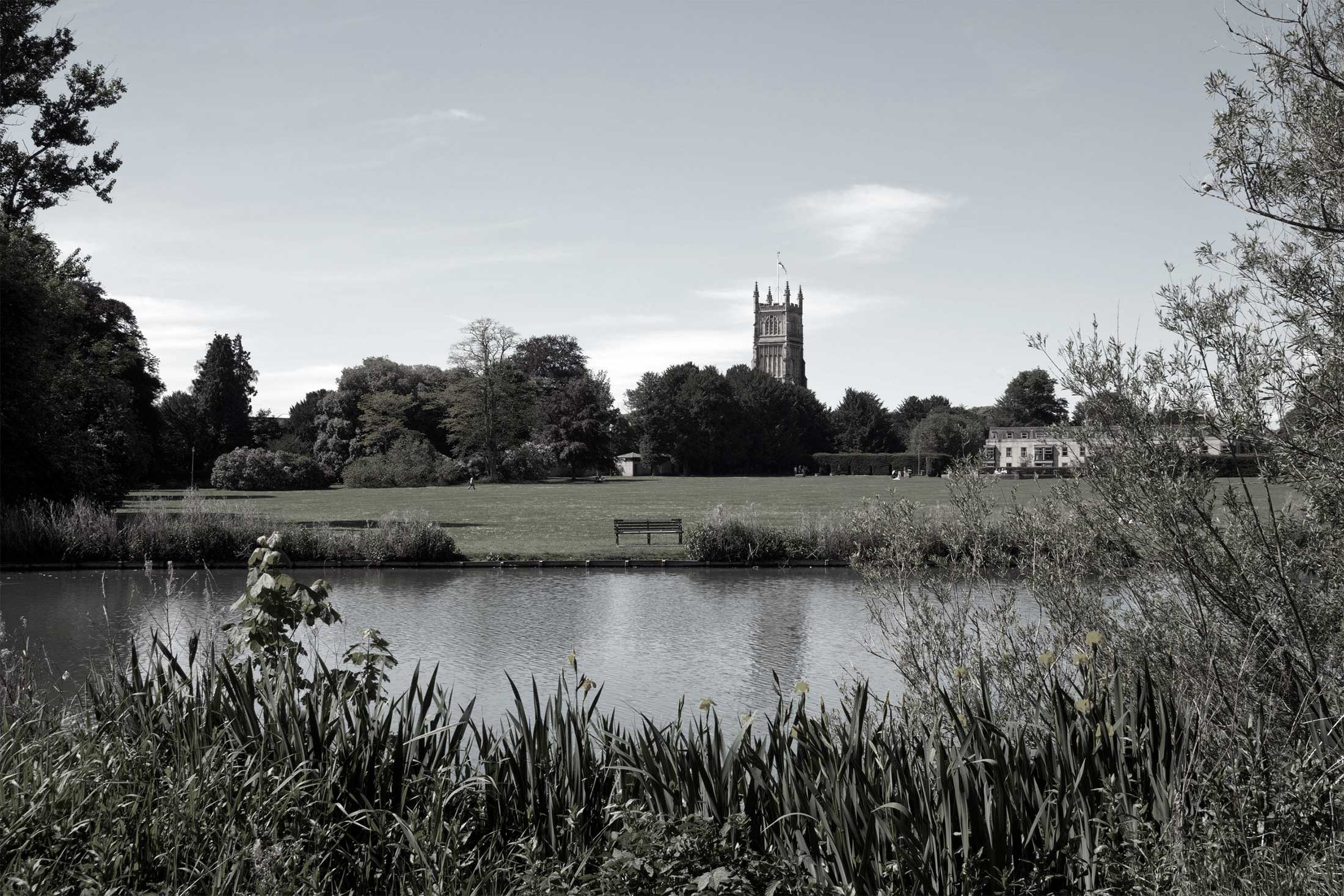 Cirencester Abbey Grounds Park